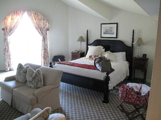Saybrook Point Inn & Spa: Our Suite.
