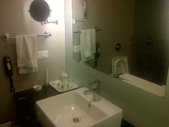 Comfort Inn Sunset : Clean WashRooms