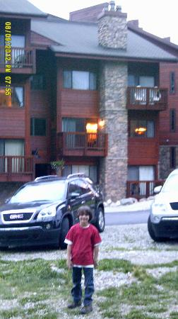Pine Ridge Condominiums: Outside our condo.