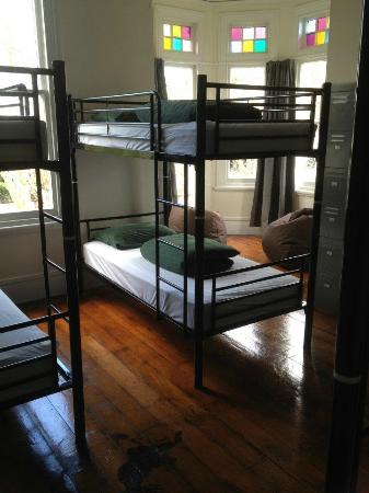 Ponsonby Backpackers: Our clean, light and bright 7 bed dorm room :-)