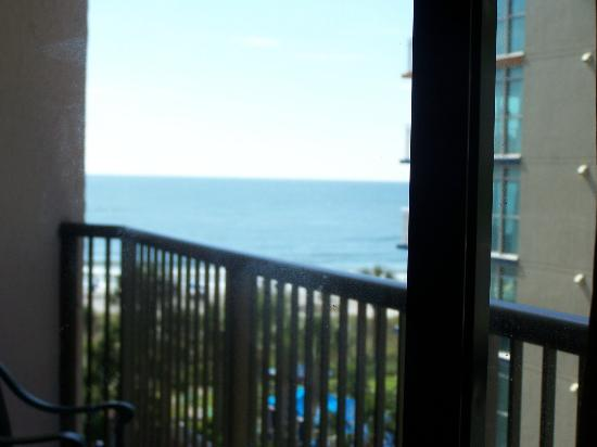 Beach Colony Resort: View of ocean from inside