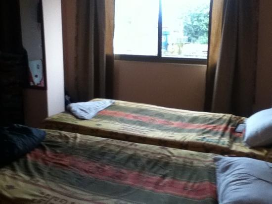 Backyard Hotel: habitación amplia y limpia