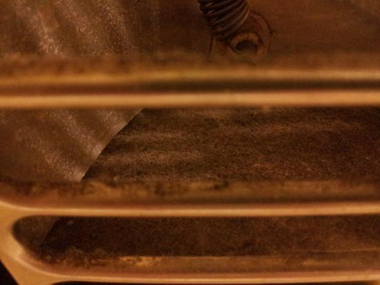 Sierra Lodge: Verwarming op de badkamer met eigen risisco
