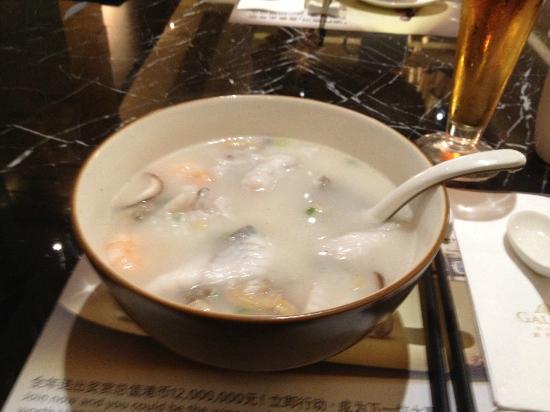 Hotel Okura Macau: Seafood Soup at Lugang