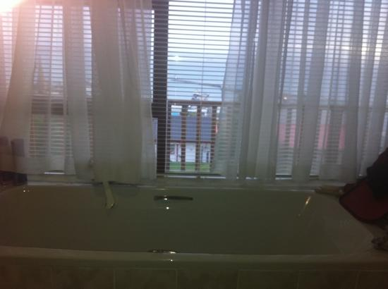 Hide Away Guest House: bath with a view