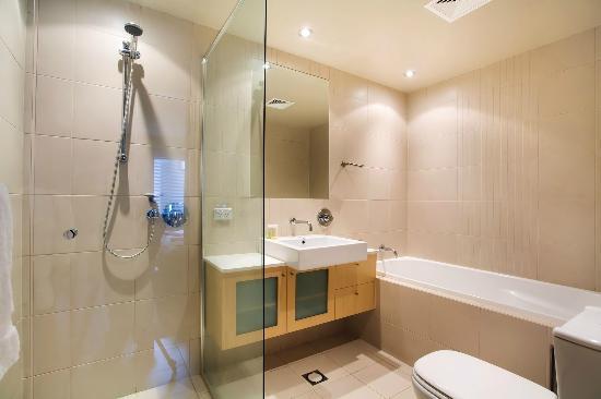 Snow Stream Apartments: Typical Bathroom