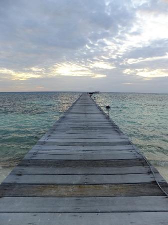 Fun Island Resort: View down the jetty
