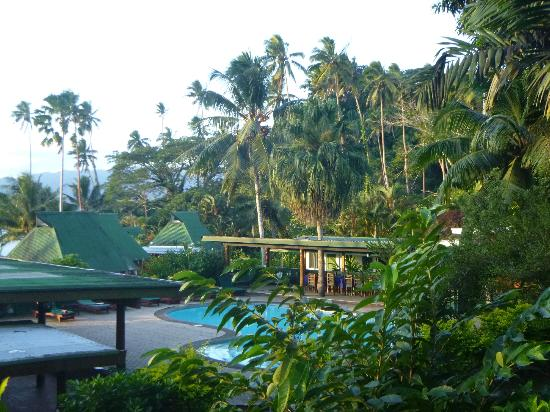 Daku Resort: View from room