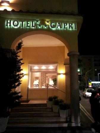 Hotel Capri: Ingresso