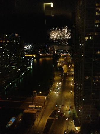 Fireworks from 29th floor