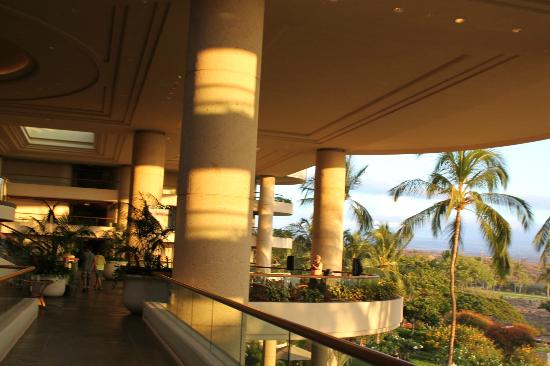 The Majestic Columns Of The Lobby And Patios Overlooking