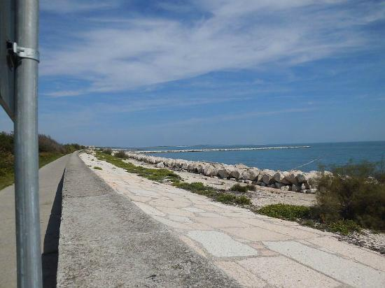 Ca' del Moro Foresteria: Strand vor Hotel