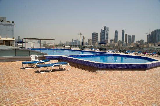 Al Bustan Hotel: Бассейн на крыше