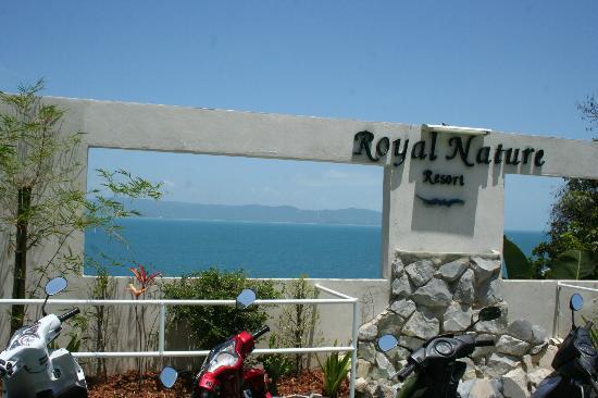 Royal Nature Resort & Spa: Arrival