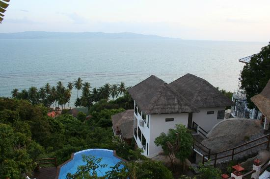 Royal Nature Resort & Spa: View from reception
