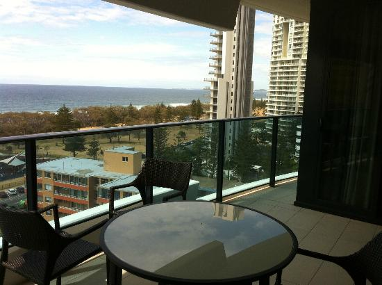 Peppers Broadbeach: View from the Balcony