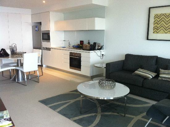 Peppers Broadbeach: Just part of our spacious Ocean View Apartment