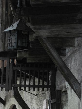 Schattenburg Museum: viel Holz wurde verbaut