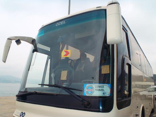 Cengo Travel: Our Tour Bus