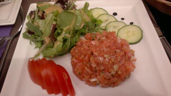 La Forge : salmon tartar