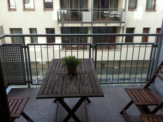 Trendy Deluxe Apartments: balcony.
