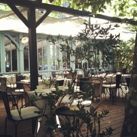 il giardino a colazione picture of la maison du bassin cap ferret tripadvisor