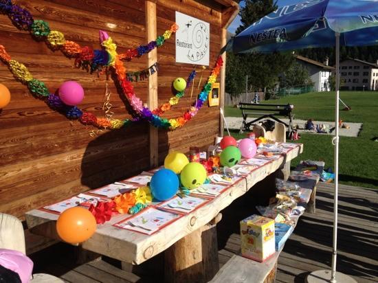La Piruetta: Festa di compleanno