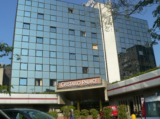 Starhotels Cristallo Palace : L'entrée