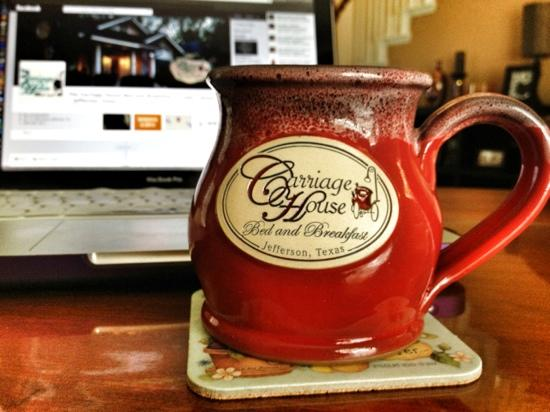 The Carriage House Bed and Breakfast: My new favorite mug!