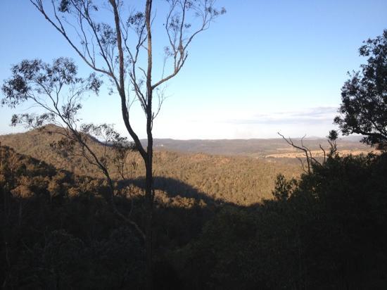 ecoRidge Hideaway: the view