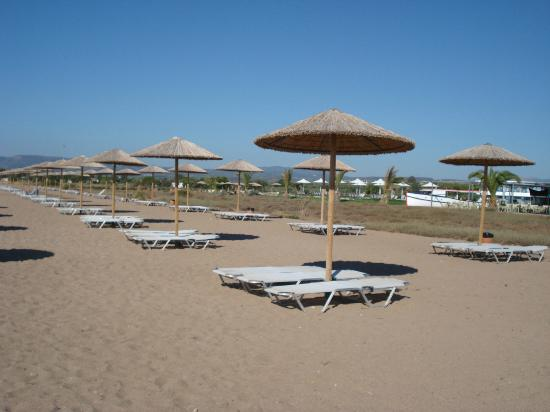 Buca Beach Resort: Beach area