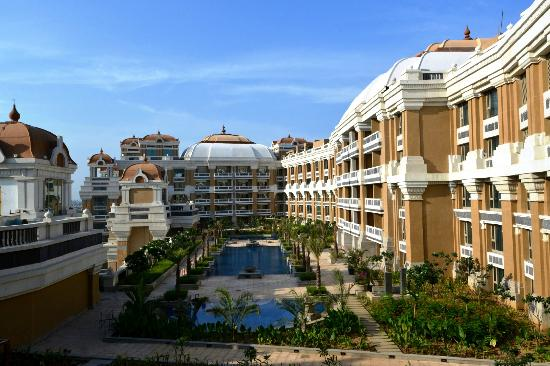 The Marina Swimming Pool Complex Picture Of Itc Grand Chola Chennai A Luxury Collection
