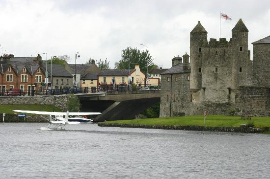 Fermanagh Self Catering: Enniskillen castle with a sea plane landing (only 30 minutes drive away)