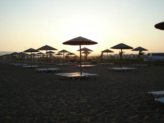 Buca Beachclub: Beach area