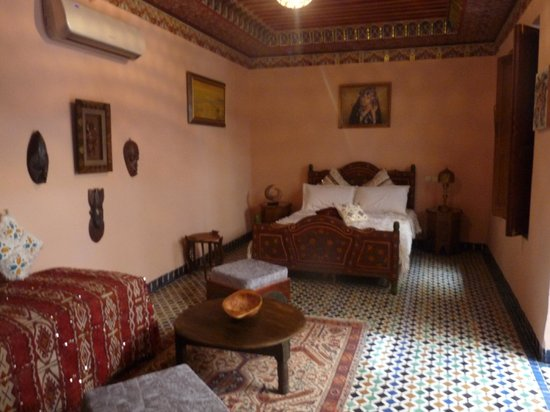 Riad l'Artiste : Chambre Africaine