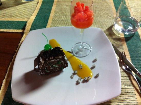The Paradise Resort and Spa: un dessert succulent !