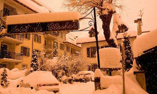 Hotel du Clocher: L'hiver