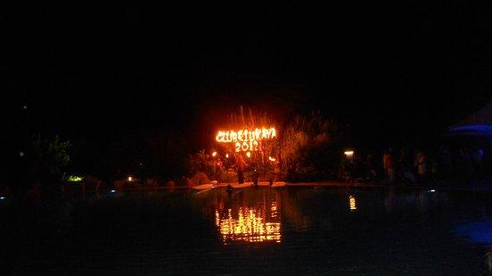 Hotel Riu Kaya Belek: Fireworks