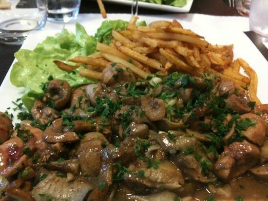 St-Quentin, Francia: rognons de veaux