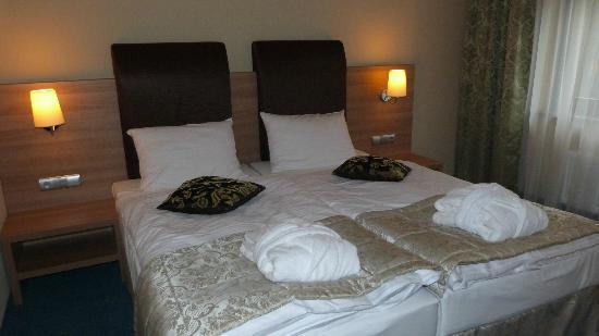 Hotel Greno: Łóżka bardzo wygodne