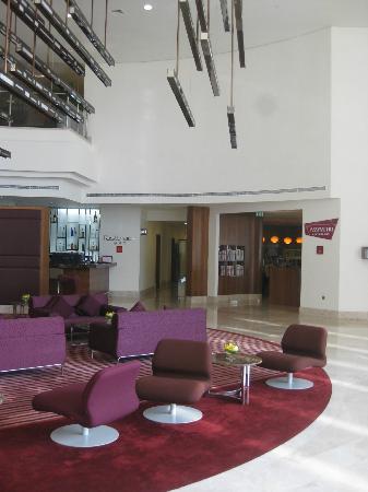 فندق راديسون بلو، أبو ظبي ياس آيلاند: Main lobby
