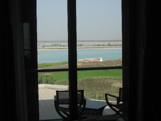 "Radisson Blu Hotel, Abu Dhabi Yas Island : My ""sea view"" from my 2nd floor room"