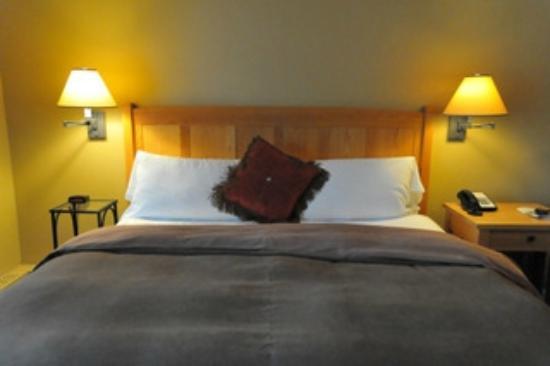 Emerald Lake Lodge : chambre
