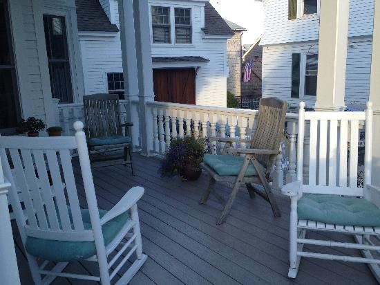 White Porch Inn: The porch :-)