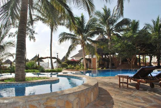 Villa Dida: Vista dalla piscina