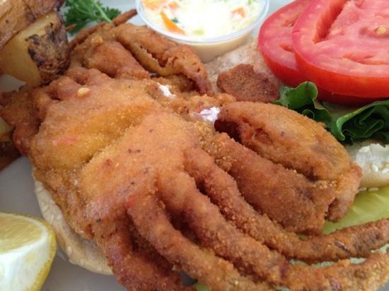 Elbow East: Softshell Crab Sandwich