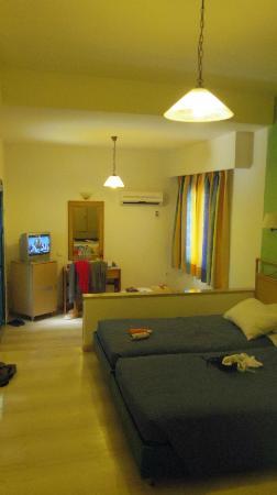 Kosta Mare Palace Hotel: Vue intérieure de la chambre