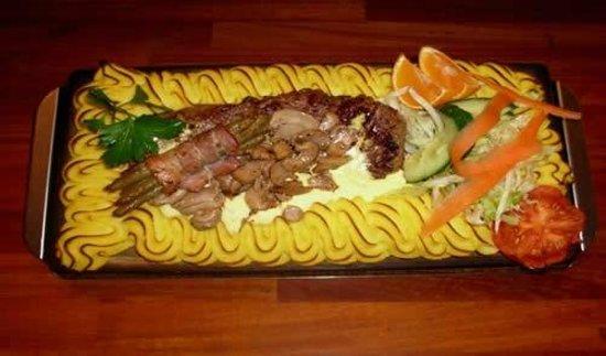 Restaurante Bacchus: Plankstek