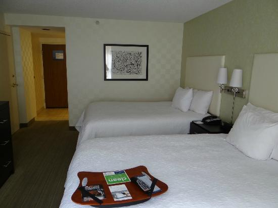 Hampton Inn & Suites Chicago - Downtown : Big comfortable beds