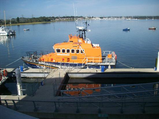 RNLI College: lifeboat